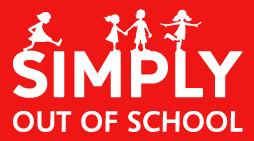 Simply out of school Llangan logo
