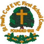 St Paul's First School logo
